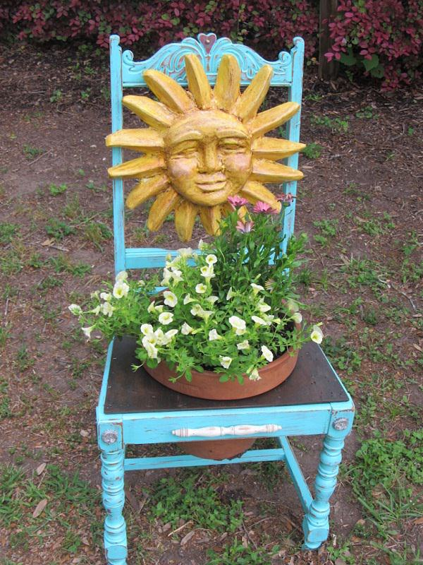 Charming Chair Planter