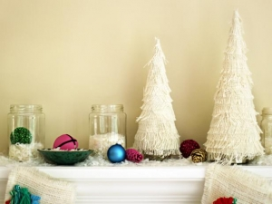 Fringed Christmas Trees