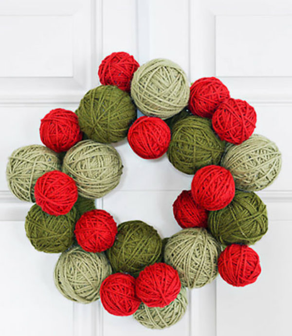 Knit a wreath