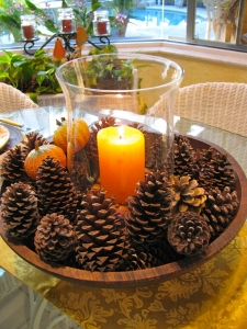Pinecone Arrangement