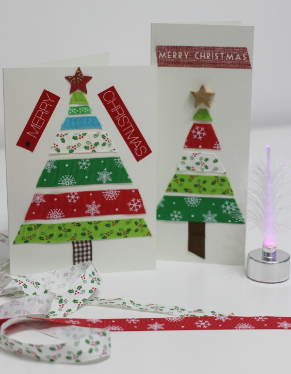 Ribbon Christmas Cards