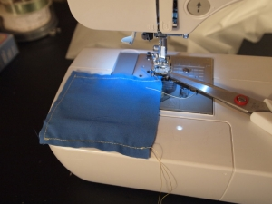 Sewing the Hand Warmers