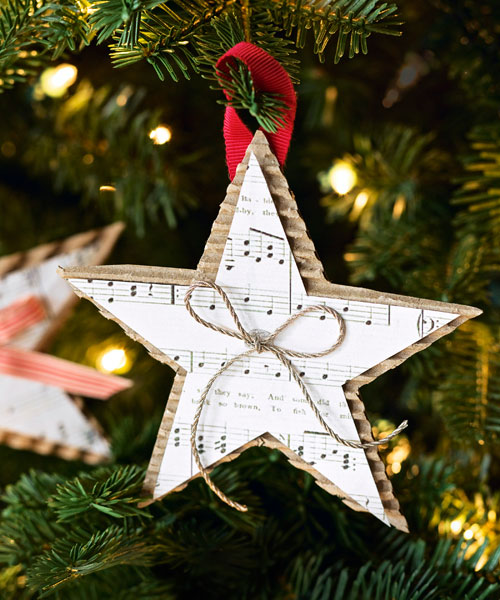 20 diy christmas ornament ideas for your tree reliable for Christmas decorations ideas to make at home
