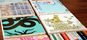 DIY Ideas for Customizing Coasters - Wallpaper Coasters