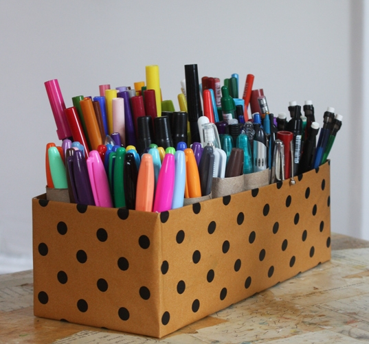 Shoebox Marker Caddy