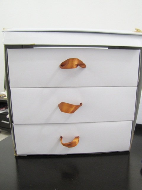 Shoebox drawers