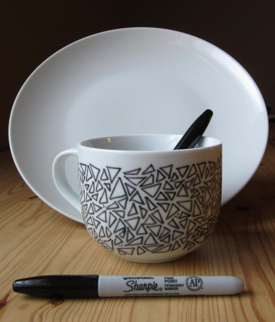 geo triangle mugs - Mug Design Ideas