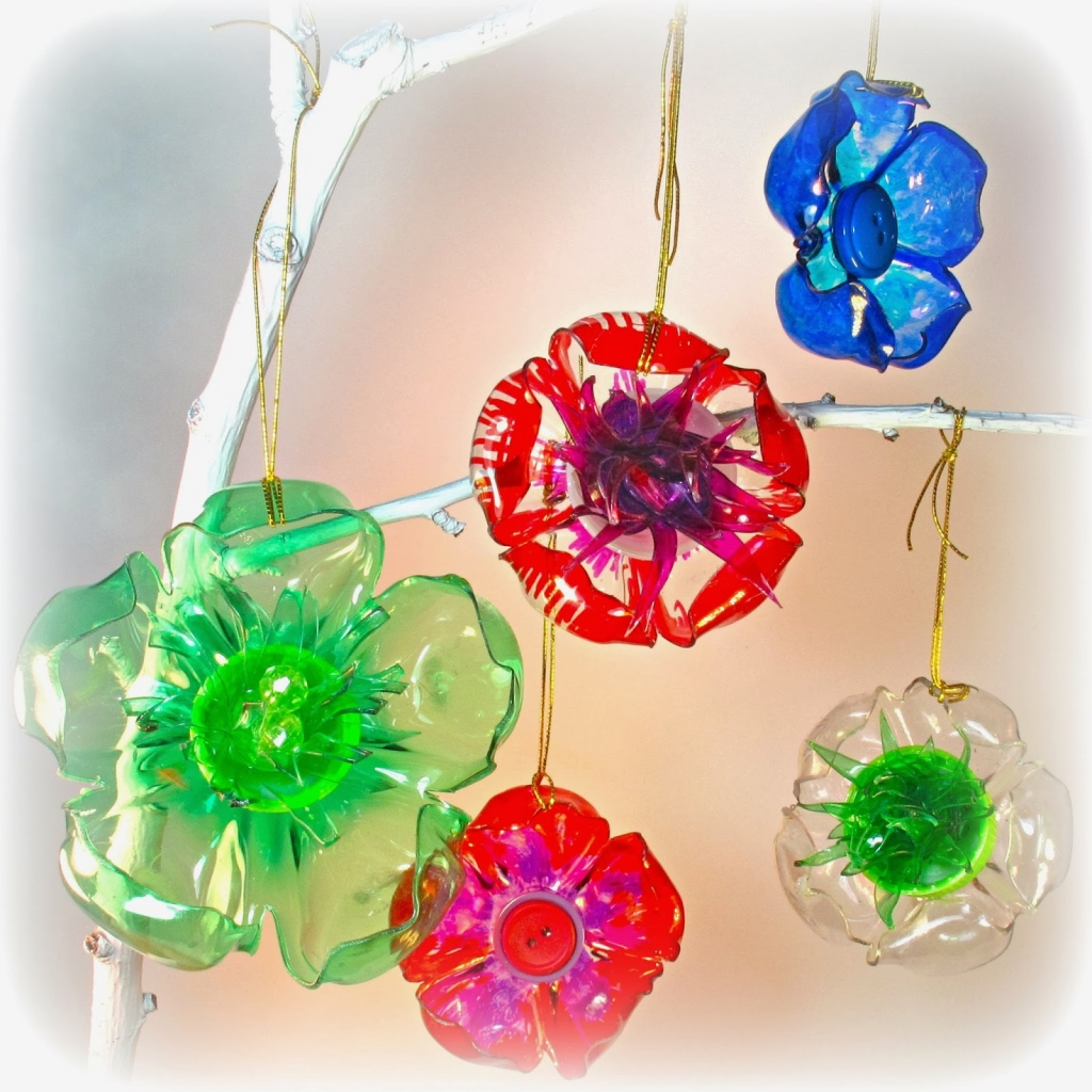plastic bottle christmas decorations