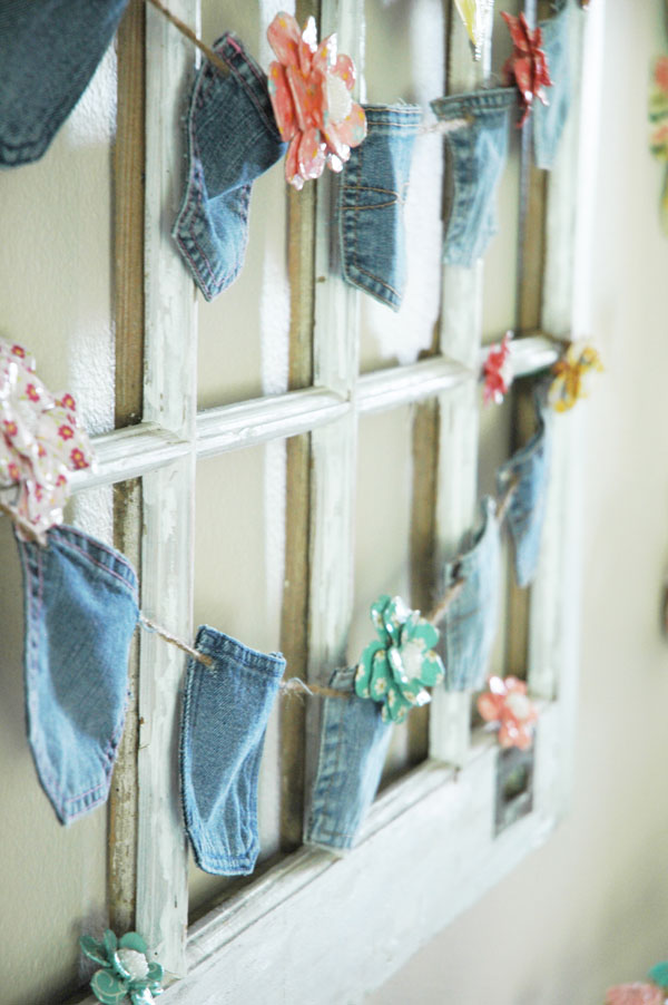 denim pocket banner