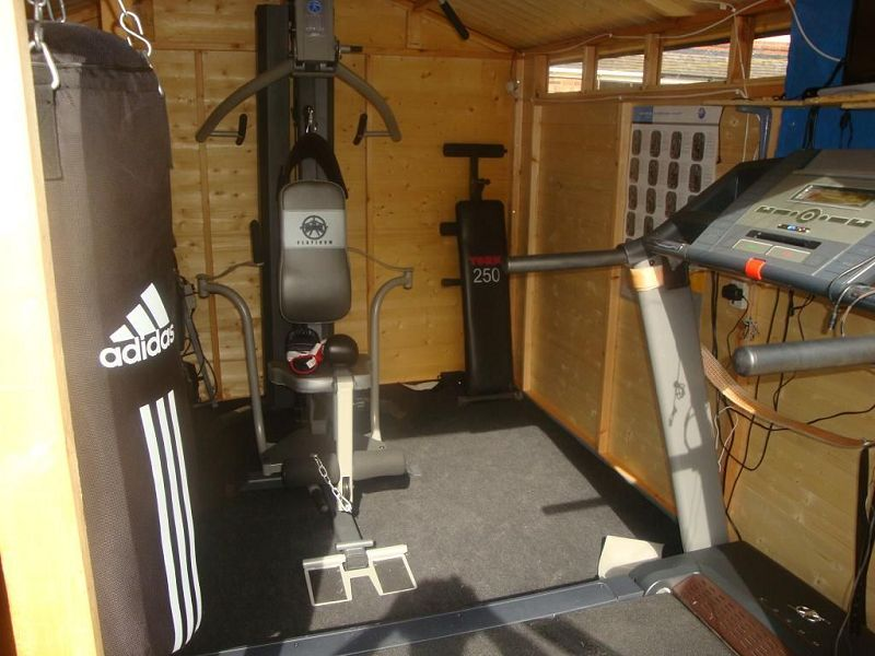 Diy garden escape ideas to totally transform your for Garden shed gym