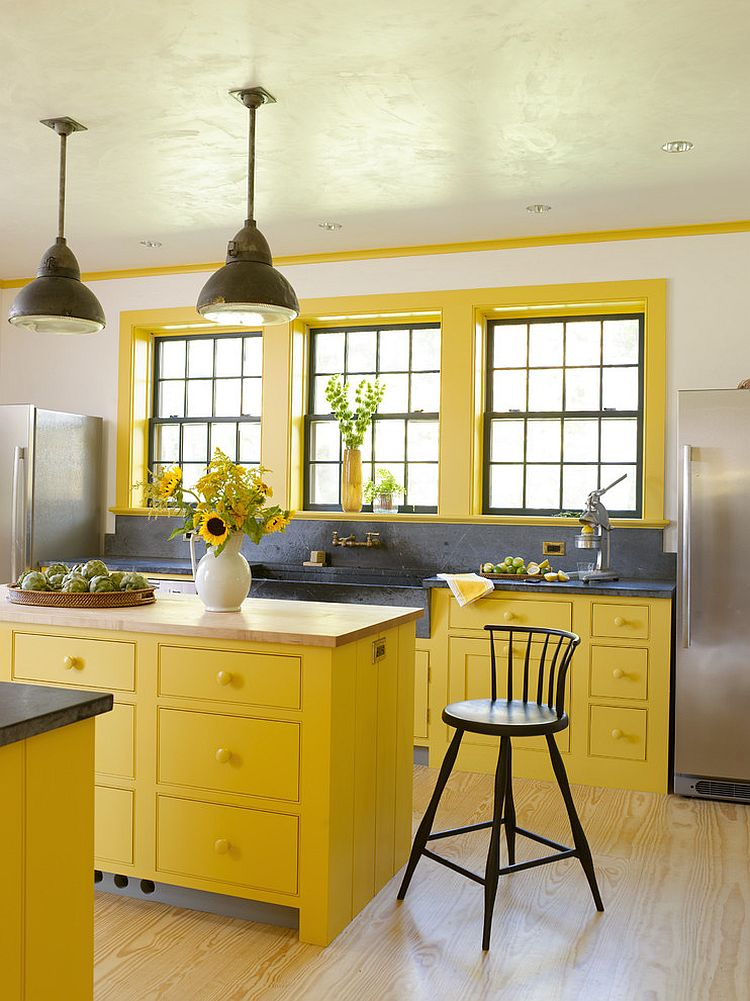Yellow Kitchen: Kitchen Inspired: Top Paint Colors For Your Kitchen