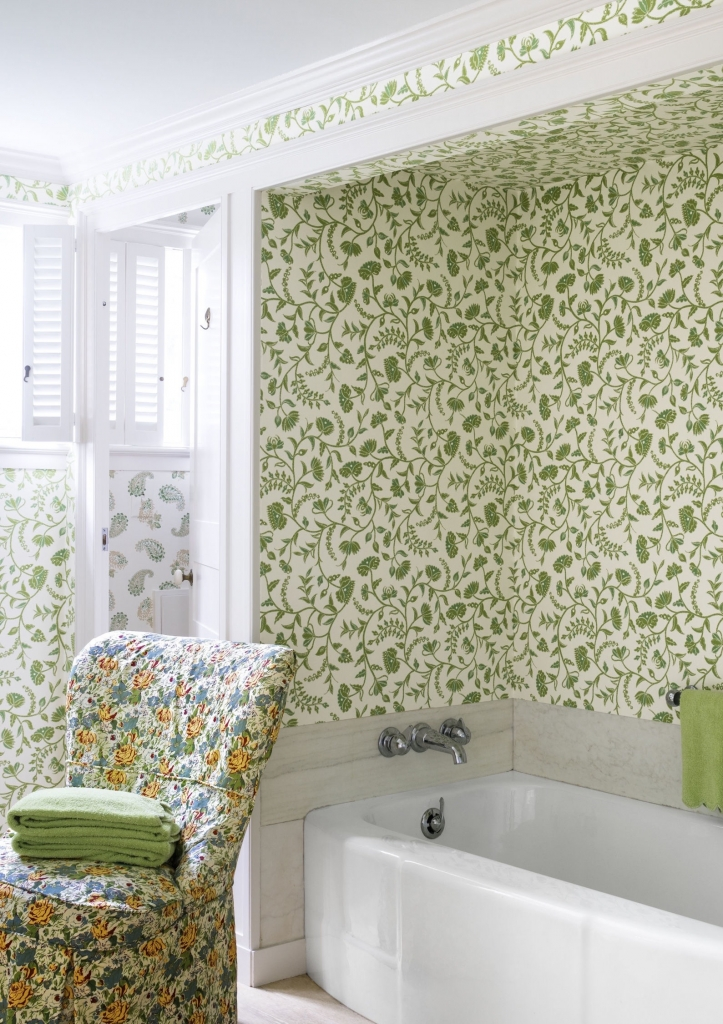 Hello sunshine beautiful decorating ideas for the spring for Spring bathroom ideas