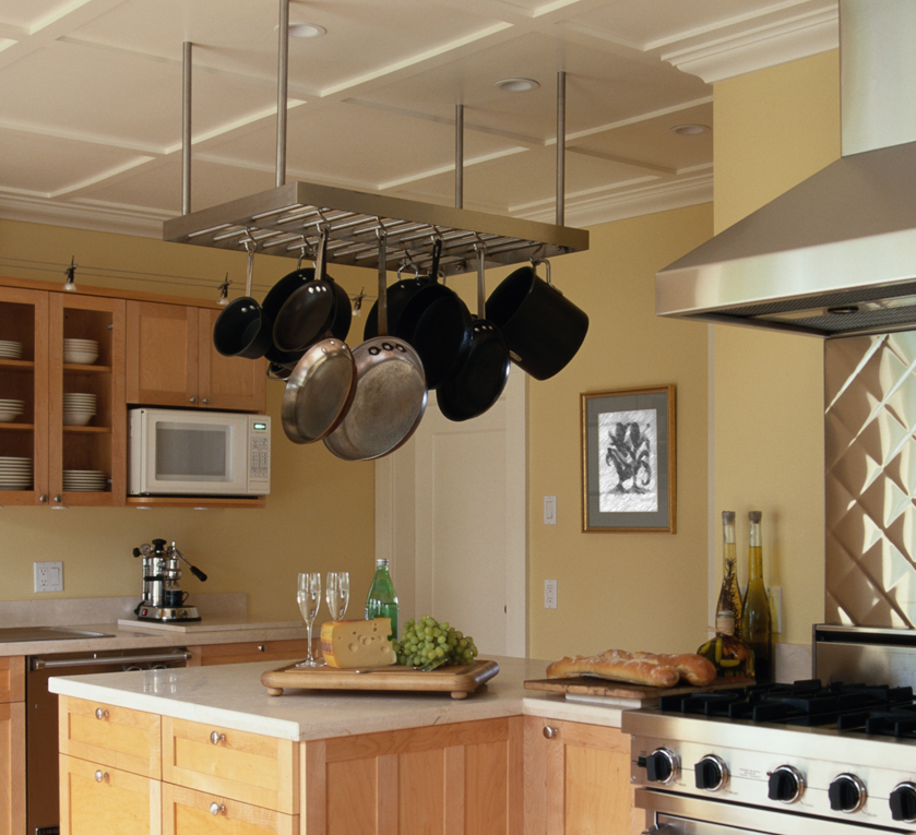 kitchen design pot rack big stylish designs for small kitchens reliable 471